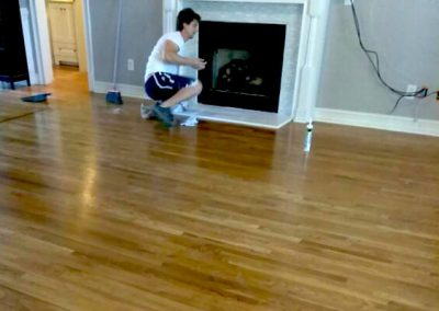 Solid Hardwood Floor Installation