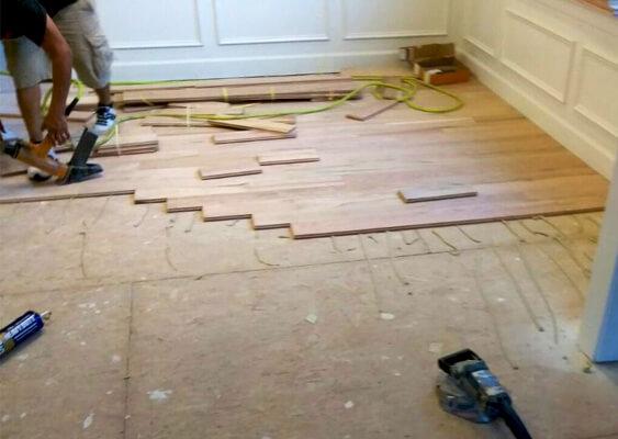 Hardwood Floor Installation Atlanta, GA